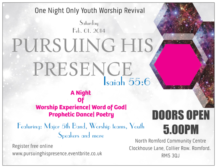 One Night Only Worship Revival: Pursuing His Presence