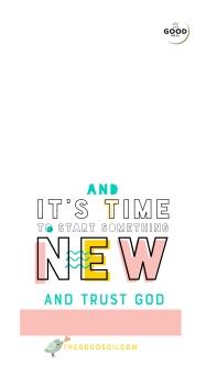 NEW THINGS